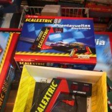 Scalextric: REFERENCIA 8803 SCALEXCTRIC , ACCESORIO , CUENTAVUELTAS ELECTRÓNICO. Lote 245286070