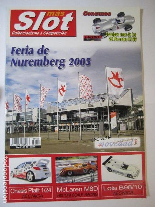 REVISTA MAS SLOT Nº33 SCALEXTRIC NINCO PORSCHE 911 (Juguetes - Slot Cars - Scalextric Pistas y Accesorios)