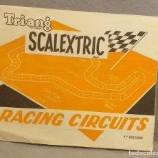Scalextric: SCALEXTRIC . * SCALEXTRIC TRIANG - RACING CIRCUITS . 7ª EDICION * . BUEN ESTADO.. Lote 247244545