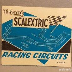 Scalextric: SCALEXTRIC . * SCALEXTRIC TRIANG - RACING CIRCUITS . 5ª EDICION * . BUEN ESTADO.. Lote 247244565