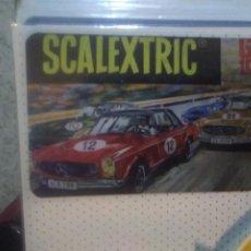 Scalextric: PACK 4 COLECCIÓNABLE : 3 CALENDARIOS DE BOLSILLO CIRCUITOS ANTIGUOS +1 PEGATINA SCALEXTRIC EXIN. Lote 247302365