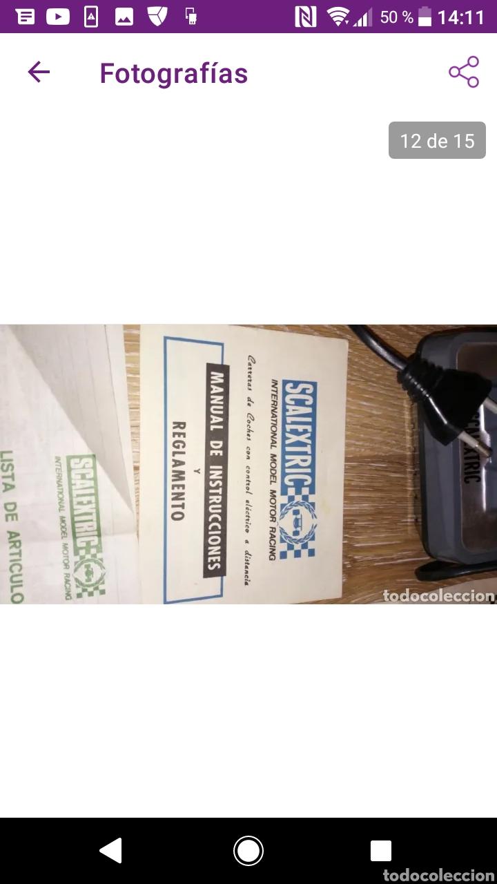Scalextric: Gran lote scalextric variado caja gp 66 pistas documentos accesorios transformadores, no probado - Foto 3 - 249301230
