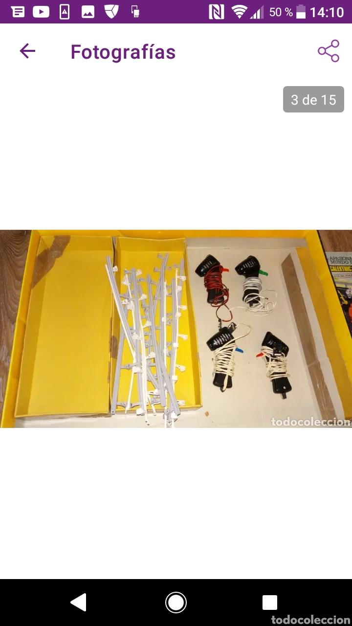 Scalextric: Gran lote scalextric variado caja gp 66 pistas documentos accesorios transformadores, no probado - Foto 4 - 249301230