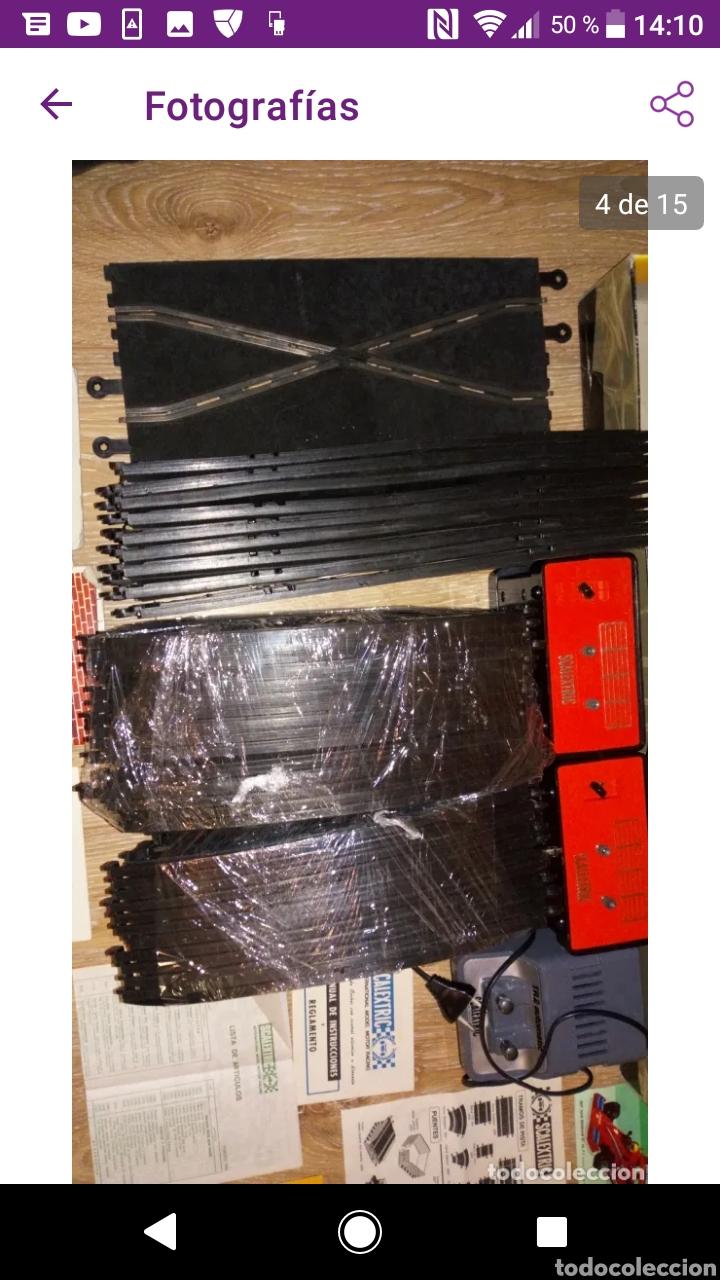 Scalextric: Gran lote scalextric variado caja gp 66 pistas documentos accesorios transformadores, no probado - Foto 5 - 249301230