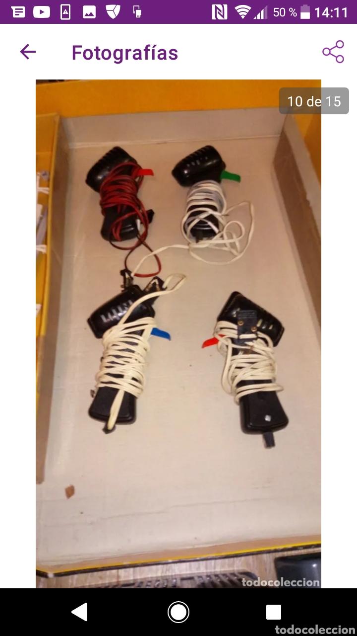 Scalextric: Gran lote scalextric variado caja gp 66 pistas documentos accesorios transformadores, no probado - Foto 11 - 249301230