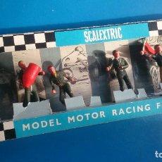 Scalextric: CAJA FIGURAS SCALEXTRIC TRI-ANG F301. Lote 253301020