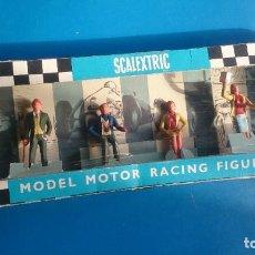 Scalextric: CAJA FIGURAS SCALEXTRIC TRI-ANG F304. Lote 253301765