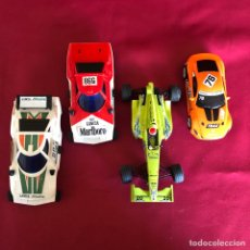 Scalextric: 4 COCHES PARA PISTA TIPO SCALEXTRIC. Lote 254020500