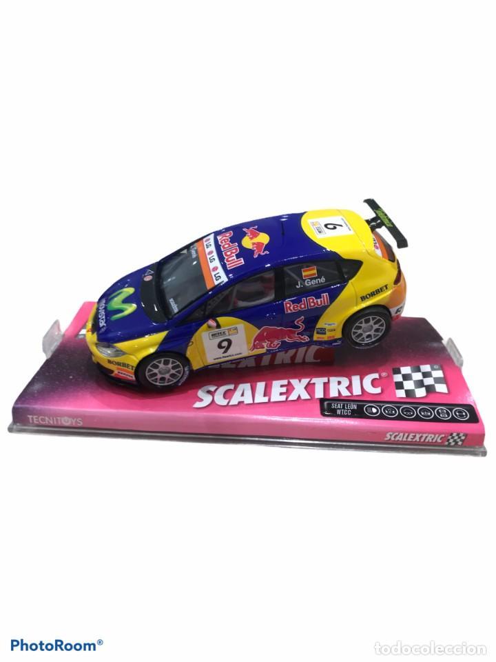 SCALEXTRIC-SEAT LEON WTCC (Juguetes - Slot Cars - Scalextric Pistas y Accesorios)