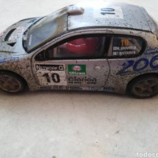 Scalextric: COCHE SCALEXTRIC PEUGEOT 206 WRC, MADE IN CHINA ( DEFECTUOSO ). Lote 255427970