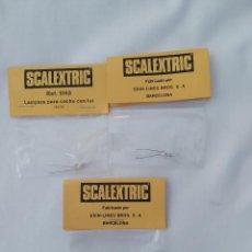 Scalextric: VINTAGE SCALEXTRIC LAMPARAS PARA COCHE CON LUZ REF.5163,NUEVO Y PRECINTADO. Lote 255934350