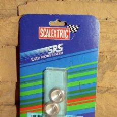 Scalextric: SCALEXTRIC SRS - CUBOS ESPECIALES PARA NEUMATICOS DE TACOS - 7405 - NUEVO Y EN SU BLISTER ORIGINAL. Lote 255997760