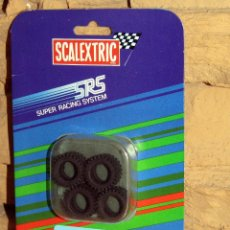 Scalextric: SCALEXTRIC SRS - 4 NEUMATICOS (156 TACOS RALLYE) - 7203 - NUEVO Y EN SU BLISTER ORIGINAL. Lote 255997995