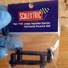 Scalextric: SCALEXTRIC SRS EXIN - JUEGO SOPORTES FIJACION CARROCERIA PORSCHE 956 - NUEVO A ESTRENAR - 7161. Lote 256003800