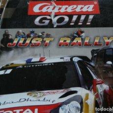 Scalextric: CARRERA GO!!! - JUST RALLY! - TURBO BOOSTER - CIRCUITO 3.6 M - VER DESCRIPCIÓN - VER FOTOS.. Lote 256030580