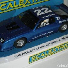 Scalextric: CHEVROLET CAMARO IROC-Z SUPERSLOT/SCALEXTRIC NUEVO EN CAJA. Lote 257935085