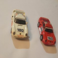 Scalextric: DOS COCHES SCALEXTRIC PORSCHE 959 MADE IN SPAIN. Lote 261145400