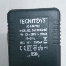 Scalextric: TRANSFORMADOR ELECTRÓNICO - SUPER POWER BOOST- 240/14V- 1500MA - -TECNITOYS. Lote 261343000