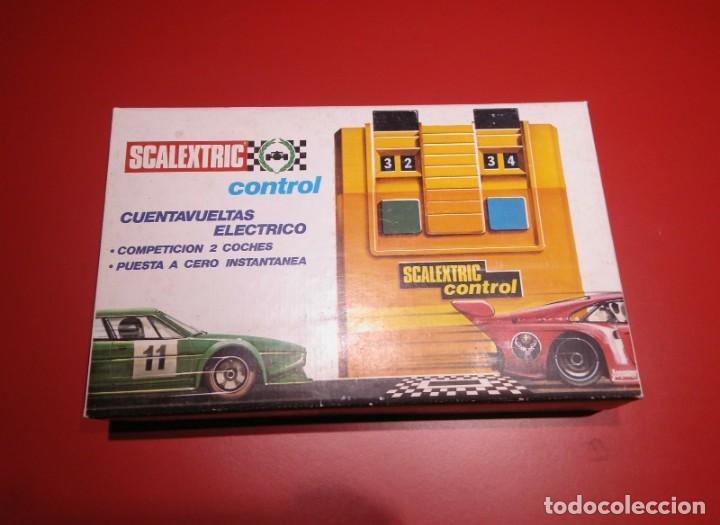 CUENTA VUELTAS ELÉCTRICO SCALEXTRIC (Juguetes - Slot Cars - Scalextric Pistas y Accesorios)