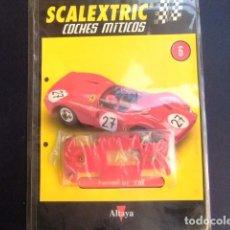 Scalextric: SCALEXTRIC FERRARI GT 330 ACCESORIO CHASIS Y FASCICULO 6. Lote 267516264