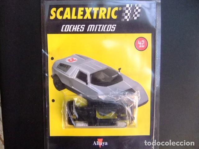 SCALEXTRIC MERCEDES WANKEL C111 ACCESORIO CHASIS Y FASCICULO 42 (Juguetes - Slot Cars - Scalextric Pistas y Accesorios)