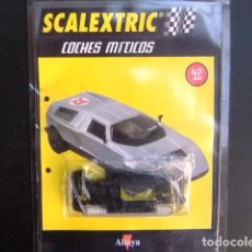 Scalextric: SCALEXTRIC MERCEDES WANKEL C111 ACCESORIO CHASIS Y FASCICULO 42. Lote 267516824