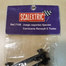 Scalextric: SCALEXTRIC SRS EXIN. JUEGO SOPORTES FIJACION CARROCERIA RENAULT-5 TURBO. 7156. Lote 270205813