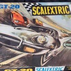 Scalextric: SCALEXTRIC GT 20 CON JAGUAR ROJO. Lote 274874763