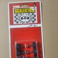 Scalextric: REPUESTO ORIGINAL RUEDAS SCALEXTRIC SRS2. Lote 276238068