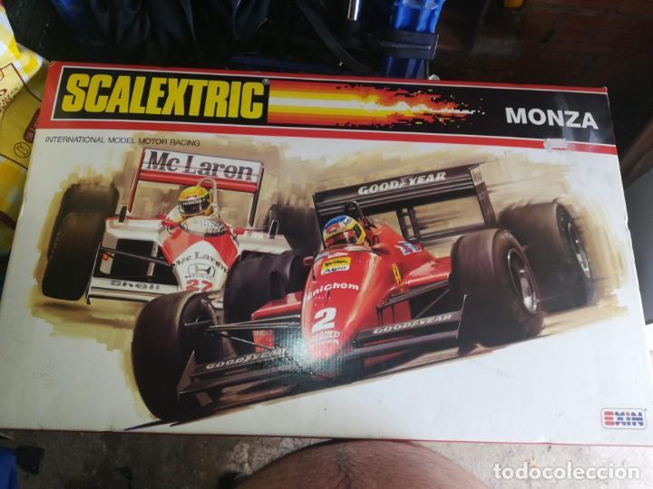 SCALEXTRIC MONZA (Juguetes - Slot Cars - Scalextric Pistas y Accesorios)