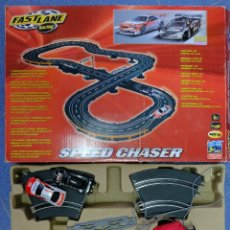 Scalextric: FASTLANE RACING SPEED CHASER - PISTA DE CARRERS DE COCHES TIPO EXCALECTRIC. Lote 278156128