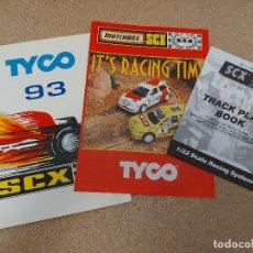 Scalextric: CATÁLOGOS TYCO SCALEXTRIC DECADA 1990-2000. Lote 283048313