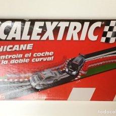 Scalextric: SCALEXTRIC CHICANE CON BARRILES NUEVA. Lote 284039343