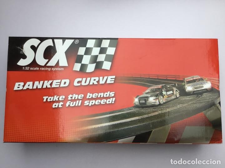 SCALEXTRIC CURVA PERALTADA SEMINUEVA (Juguetes - Slot Cars - Scalextric Pistas y Accesorios)