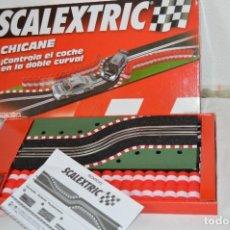 Scalextric: TECNITOYS ¡DESCATALOGADO! REF. 8869 CHICANE DOBLE CURVA - MUY BUEN ESTADO / EXCELENTE - ¡MIRA FOTOS!. Lote 285975668