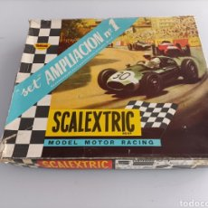 Scalextric: SCALEXTRIC SET AMPLIACIÓN N.1 COMPLETO. Lote 287372698