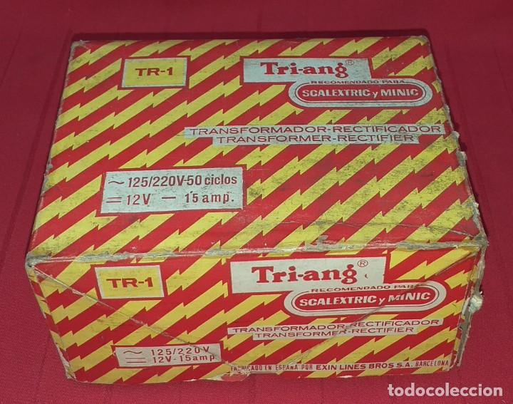 Scalextric: TRANSFORMADOR - RECTIFICAFOR SCALEXTRIC Y MINIC TRI-ANG - Foto 9 - 287744398