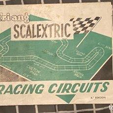 Scalextric: TRIANG SCALEXTRIC EXIN RACING CIRCUITS ORIGINAL 6.ª EDICION. Lote 287956003