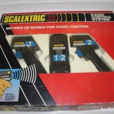Scalextric: SCALEXTRIC SISTEMA DE MANDO POR RADIO CONTROL EXIN Y CRUCE DE PISTAS. Lote 288408403