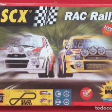 Scalextric: SCX RAC RALLY. Lote 291166388