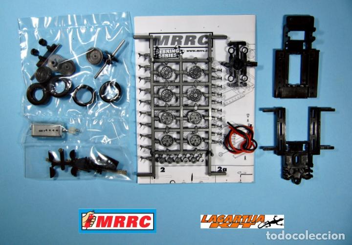 Scalextric: MRRC 1/32 CHASIS COMPLETO SEBRING REGULABLE - 71 / 102 mm SLOT CLASSIC RESIN KIT - Foto 2 - 168098292