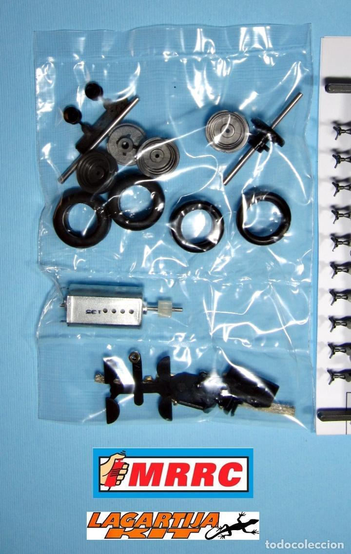 Scalextric: MRRC 1/32 CHASIS COMPLETO SEBRING REGULABLE - 71 / 102 mm SLOT CLASSIC RESIN KIT - Foto 3 - 211612944