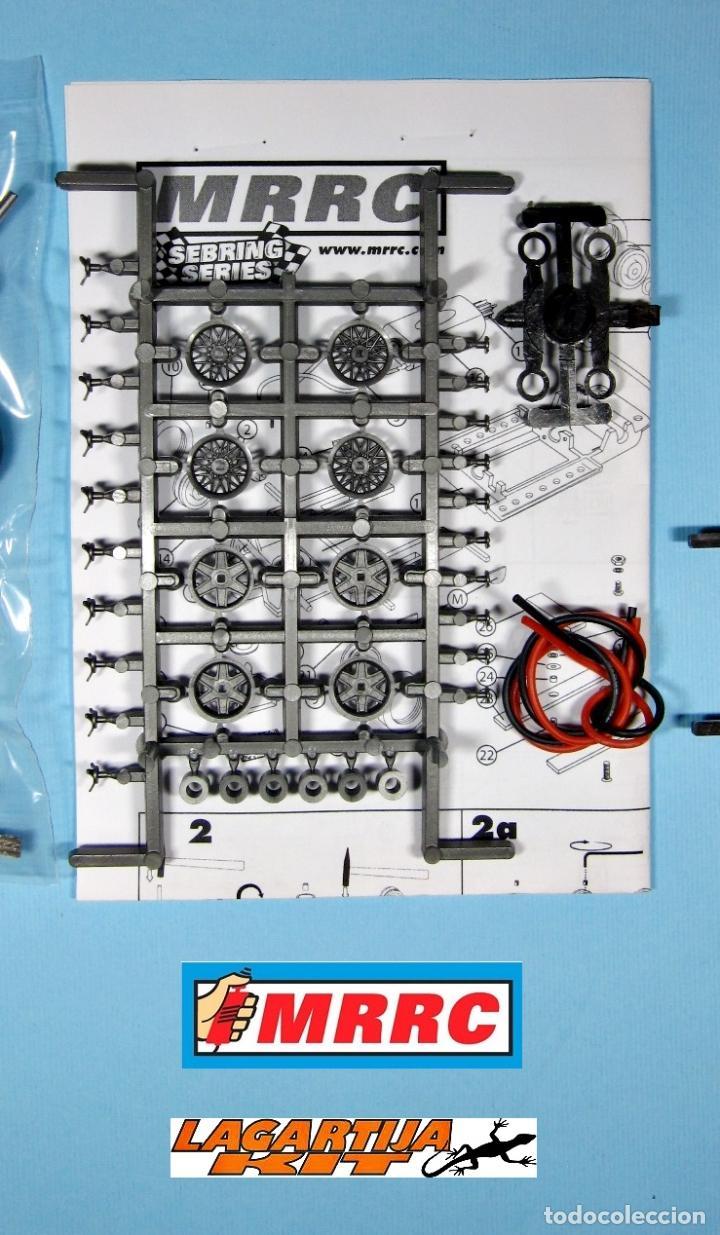 Scalextric: MRRC 1/32 CHASIS COMPLETO SEBRING REGULABLE - 71 / 102 mm SLOT CLASSIC RESIN KIT - Foto 4 - 211612944