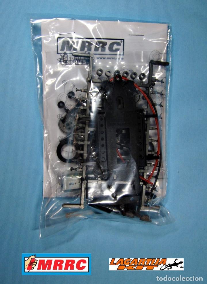 Scalextric: MRRC 1/32 CHASIS COMPLETO SEBRING REGULABLE - 71 / 102 mm SLOT CLASSIC RESIN KIT - Foto 6 - 211612944