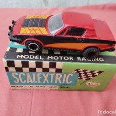Scalextric: SCALEXTRIC TRIUMPH TR7 Y CAJA SCALEXTRIC MINI COPPER. Lote 296588453