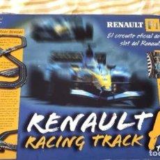 Scalextric: RENAULT F1 TEAM CIRCUITO OFICIAL RACING TRACK NUEVO SIN ESTRENAR. Lote 296621118
