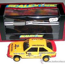 Scalextric: FORD ESCORT XR3I BARDAHL C.126 SCALEXTRIC MADE IN ENGLAND, AÑOS 80. A ESTRENAR CON SU CAJA.. Lote 24193589