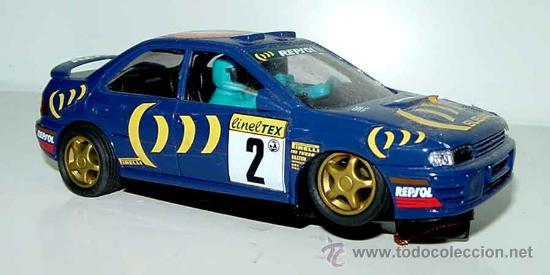 COCHE SCX SUBARU IMPRENZA -- SCX - VER FOTOS, EXCELENTE ESTADO DE CONSERVACION (Juguetes - Slot Cars - Scalextric SCX (UK))