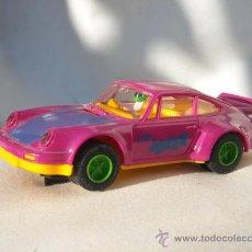 """Scalextric: PORSCHE 911 """"THE JOKER"""" Nº0, MORADO SCALEXTRIC ORIGINAL FABRICADO POR HORNBY HOBBIES (SCALEXTRIC ING. Lote 47963240"""