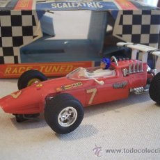 Scalextric: FERRARI GP C-9 RACE-TUNED SCALEXTRIC MINIMODELS LTD. MUY DIFICIL. UNICO.. Lote 26479084